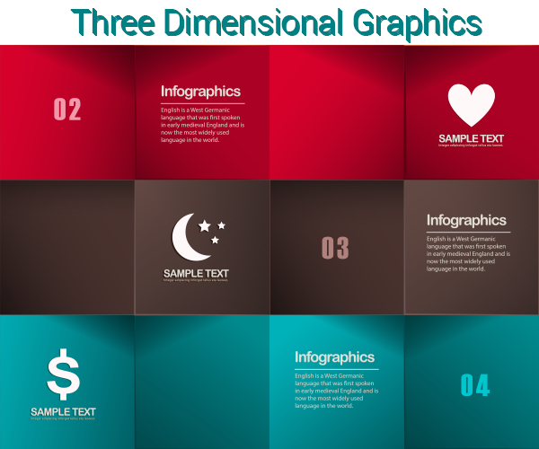 3D Graphics Web Design Trends 2015