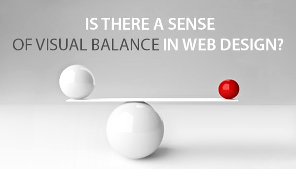 Sense of Visual Balance in Web Design