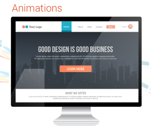 Web Design Trends 2015 Animations