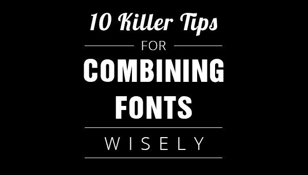Combining Fonts - main