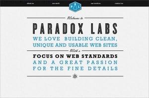 Web Design Vertical Visual Balance
