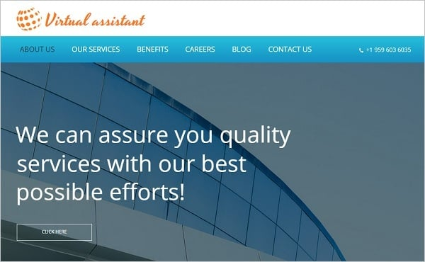 Clean Consulting Website Template