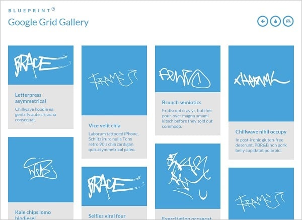 jQuery Grid Gallery Plugins - Plugin for Google Gallery
