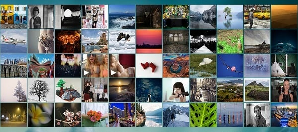 jQuery Grid Gallery Plugins - Photobox