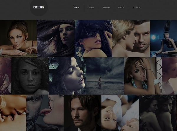 Photo Portfolio Website Template