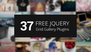 jQuery Grid Gallery Plugins - main