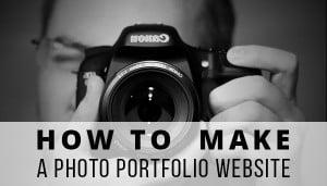 Make a Photo Portfolio Website