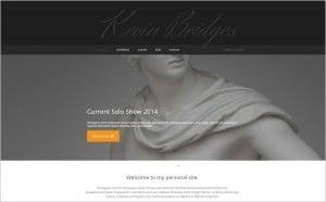 Hero Images Web Design - Sculptor Portfolio Web Template