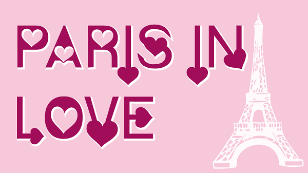 Paris in Love Font