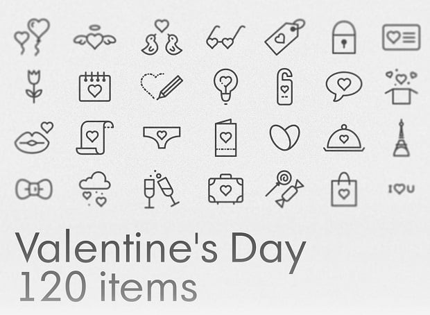 st. valentines day freebies - icons-14