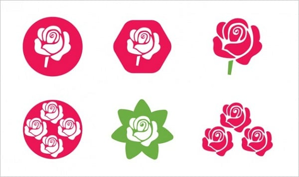 Valentine's Day freebies - Rose Icons