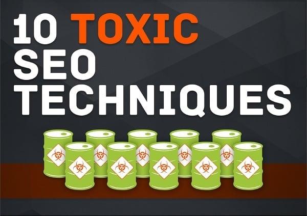 SEO Books - 10 Toxic SEO Techniques