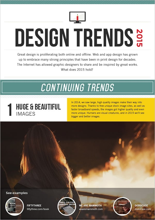 Web Design Infographics - Design Trends 2015 Infographic