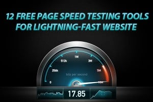 Free Page Speed Testing Tools