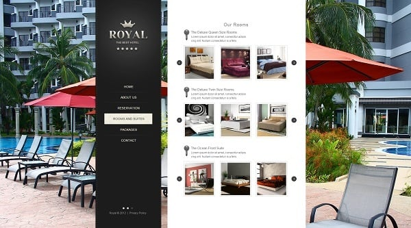 Building a Hotel Website - Hotel Web Template with Gallery