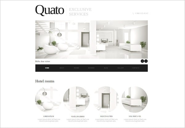 Building a Hotel Website - Clean-Style Hotel Website Template