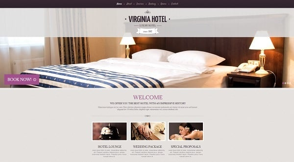 Building a Hotel Website - Website Template for Hotelier