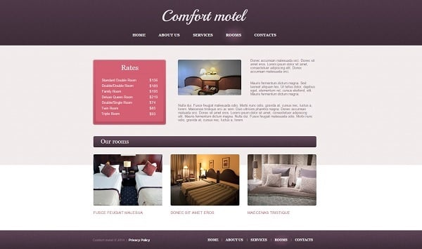 Building a Hotel Website - Pastel-Toned Hotel Business Web Template