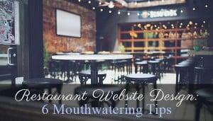 Restaurant Website Design - main