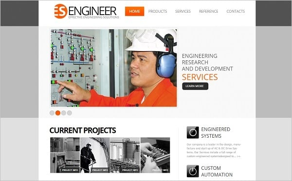 Creating a Website for Your Construction Business - Light Template