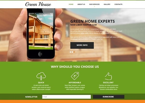 Creating a Website for Your Construction Business - Eco Template