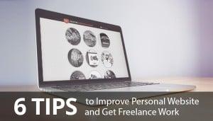 Improve Personal Website