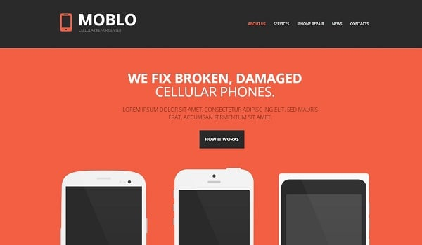 MotoCMS Promo - Mobile Template