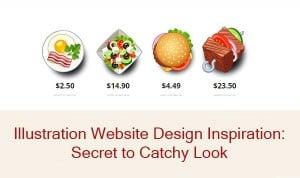 illustration website design inspiration - main