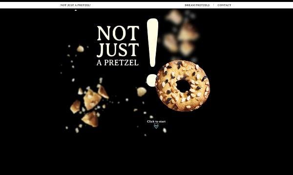 Parallax scrolling websites - Pressels