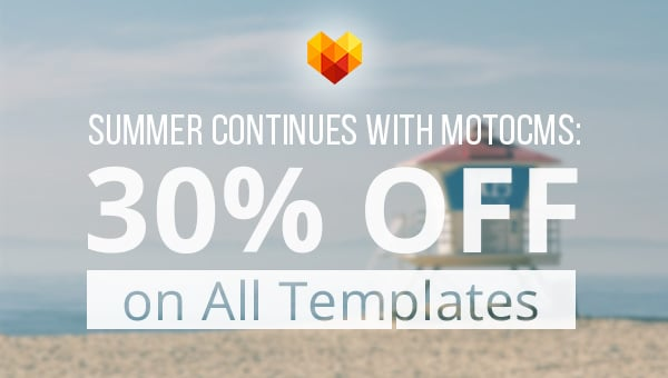 summer continues with motocms - main