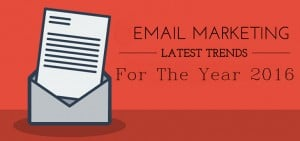 Email marketing trends 2016 - main