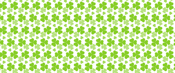 Saint Patrick's Day 2016 - clover pattern