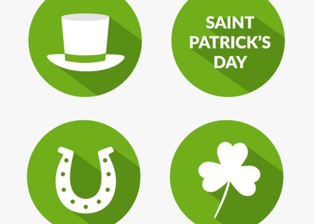 Saint Patrick's Day 2016 - icons