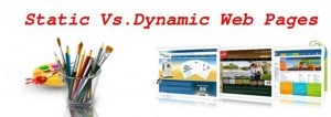 Static and Dynamic web pages - main