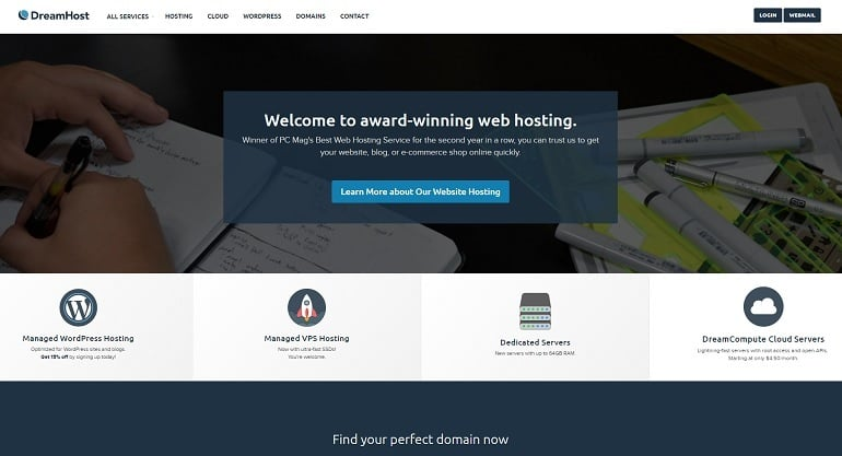 Best Hosting Services 2016 - dreamhost