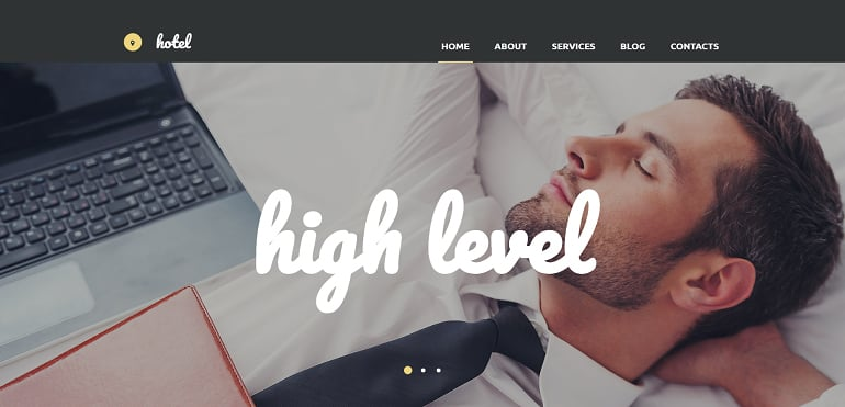 create-a-hotel-website-high-level