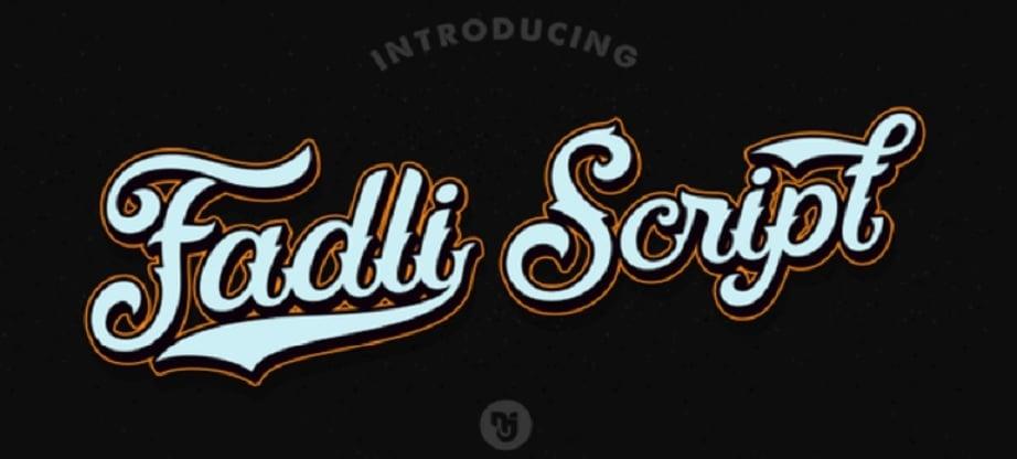handritten fonts 2017 collection - Fadli
