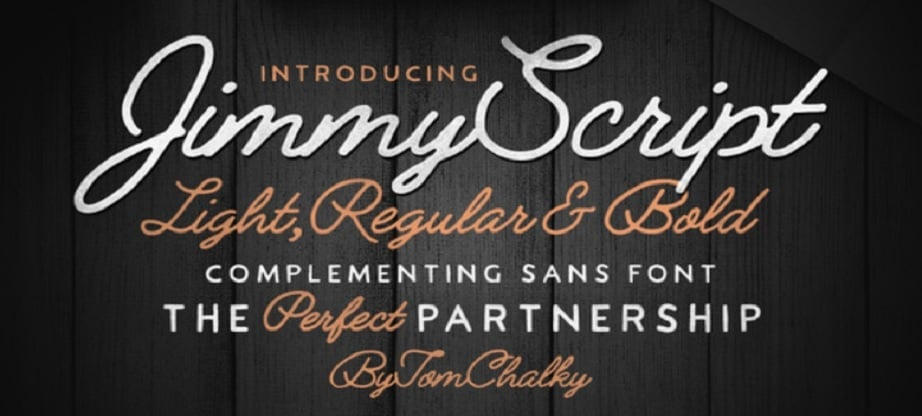 Best handwritten fonts 2017 - Jimmy