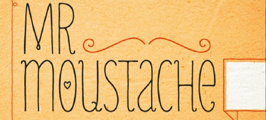Mr Moustache best handwritten fonts 2017
