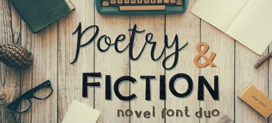 Poetry best handwritten fonts 2017