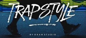 Calligraphy fonts - Trapstyle