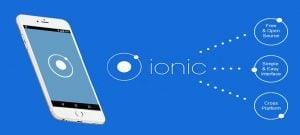 Cross platform mobile app development - Ionic