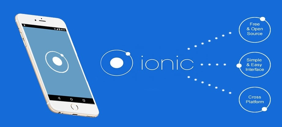 Cross platform mobile app development - Ionic