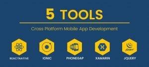 Cross platform mobile app development - featured
