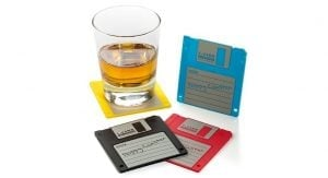 Gifts for web developers - coasters