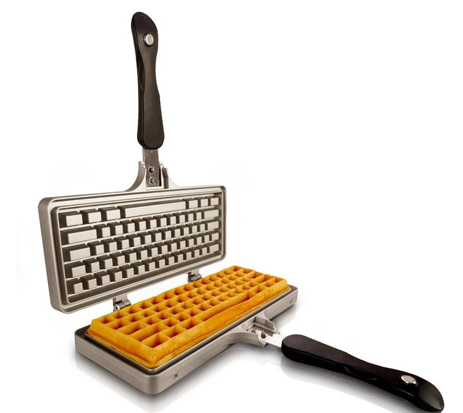 Gifts for web developers - waffle iron