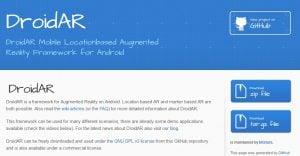 Augmented reality - DroidAR