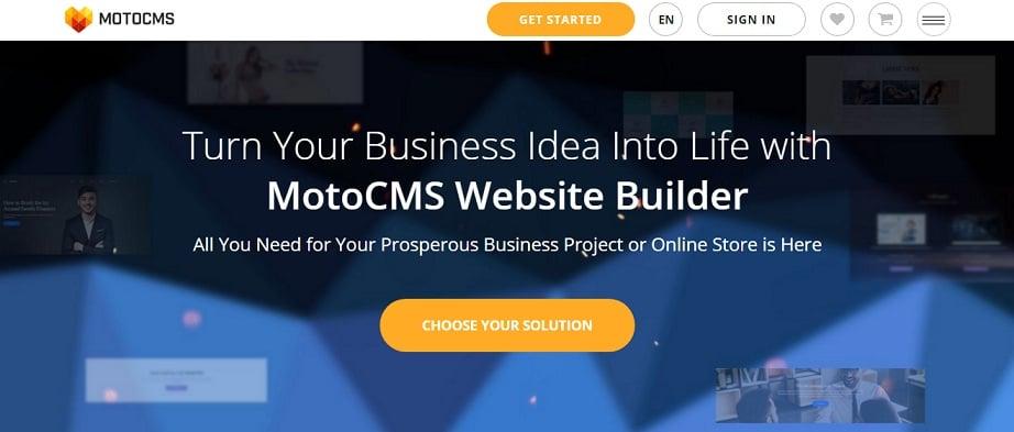 Best website builders for eCommerce 2017 - MotoCMS website