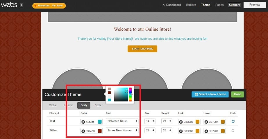 Best Website Builders for eCommerce 2017 - Webs themes