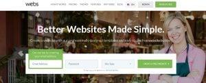 Best Website Builders for eCommerce 2017 - Webs website